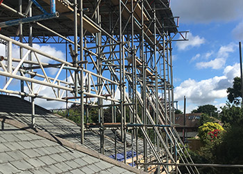 roof-scaffolding